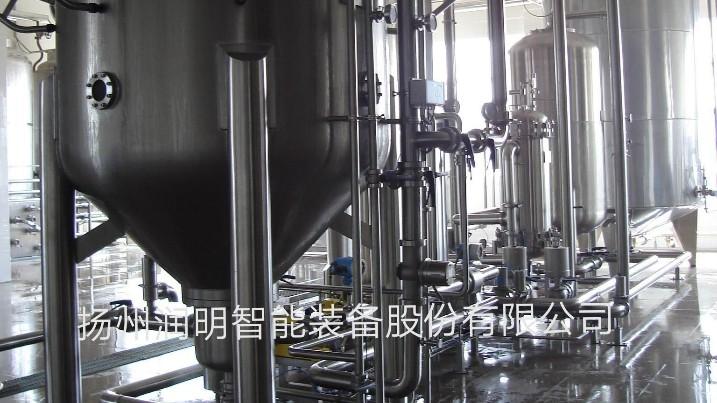 硅藻土过滤机在洋酒厂过滤使用现场