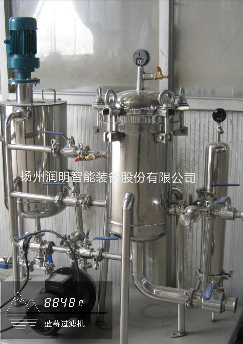 硅藻土过滤机在宁夏化工厂的应用
