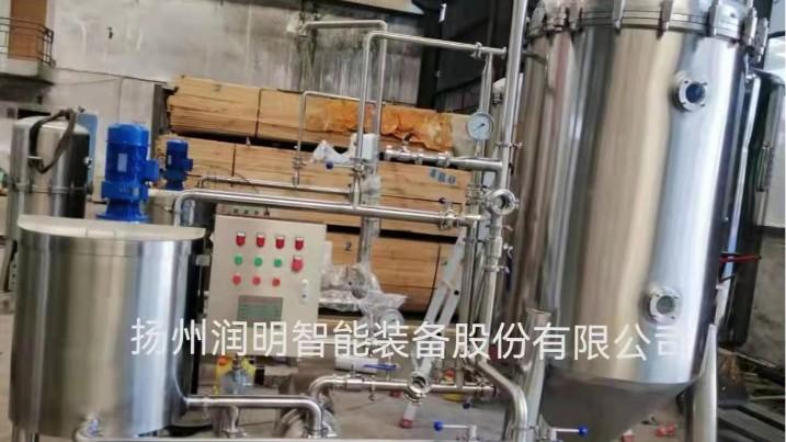 扬州润明--清洗废水循环过滤机