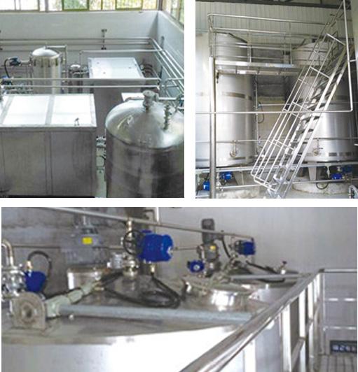 间冷式白酒冷冻过滤机RMBG系列 连续冷冻过滤过程