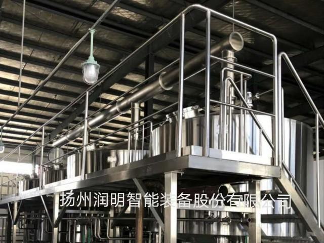 黄水原味酸调味液生产线