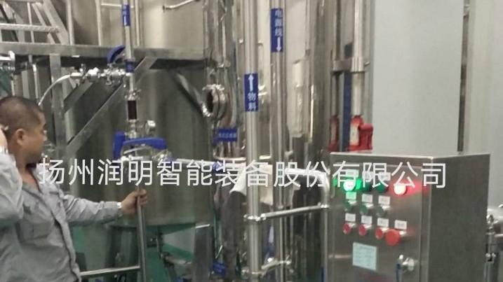 烛式过滤机在海南回元堂药业有限公司药酒过滤现场