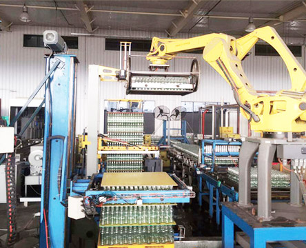 全自动机器人码(卸)瓶垛机RMMD系列