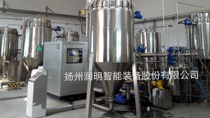 古井贡酒正在使用的10T/H白酒冷冻过滤机