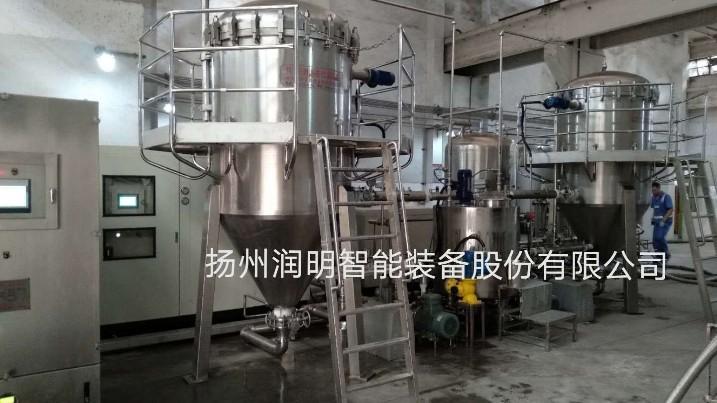 四川水井坊15T/H的白酒冷冻过滤机使用现场图