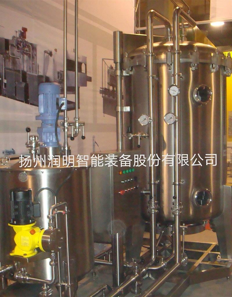 硅藻土过滤机在内蒙化工厂的应用