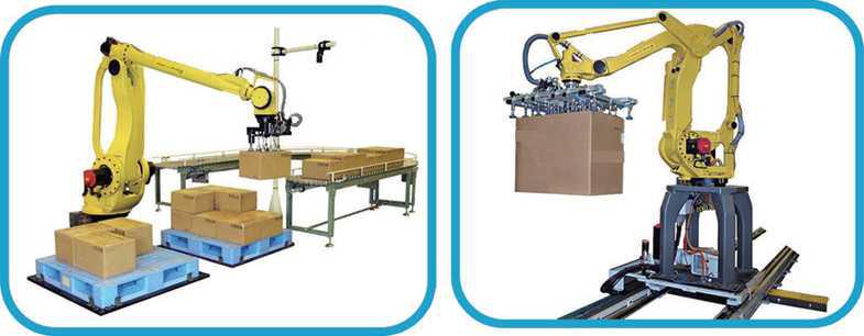 全自动机器人码(卸)箱跺机