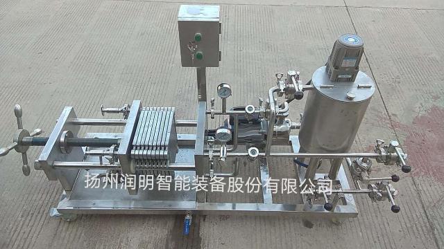 200X200板框式硅藻土过滤机
