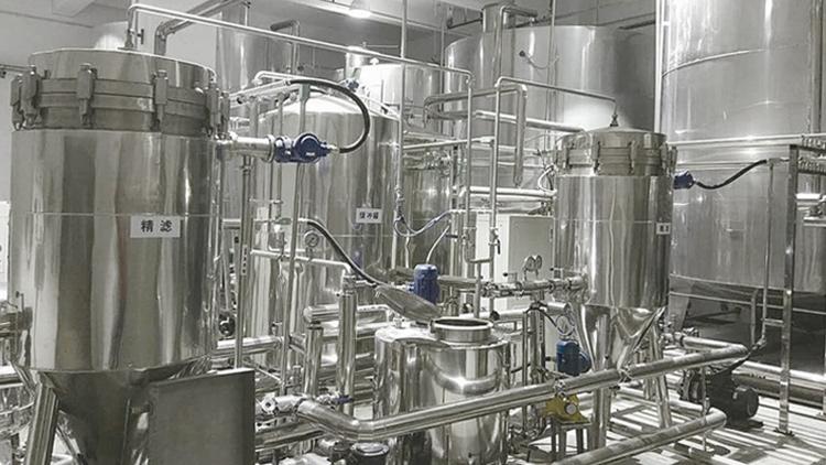 北京牛栏山酒厂间歇式白酒冷冻过滤机案例
