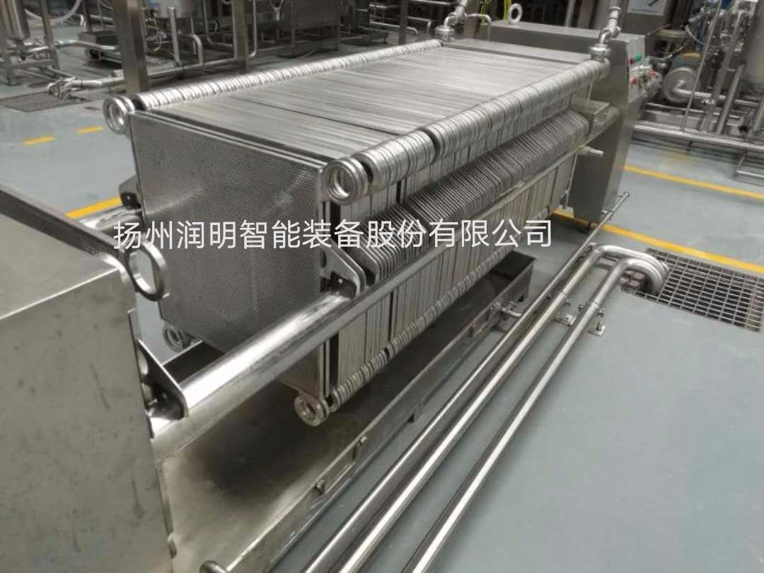 纸板过滤机在山西醋厂的过滤应用
