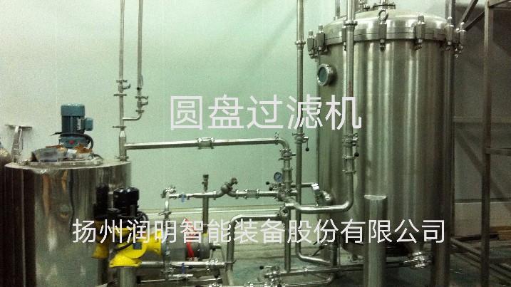 圆盘过滤机在广东天地一号安装现场