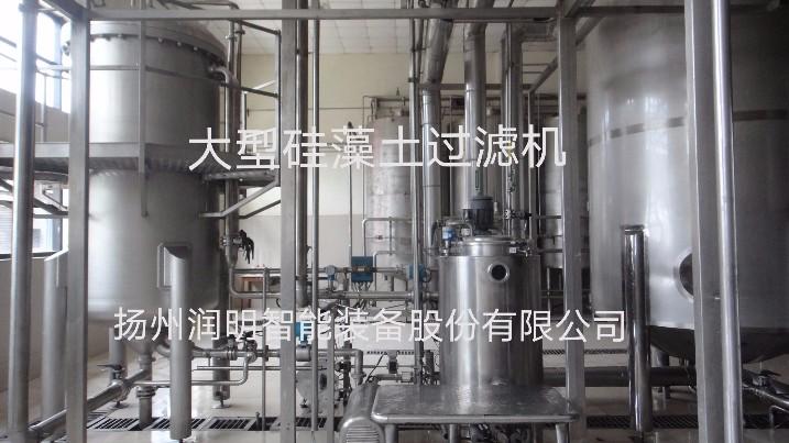 硅藻土过滤机在酶制剂的过滤应用